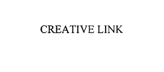 mark for CREATIVE LINK, trademark #76089309