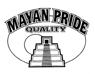 mark for MAYAN PRIDE QUALITY, trademark #76089480