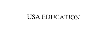 mark for USA EDUCATION, trademark #76090062