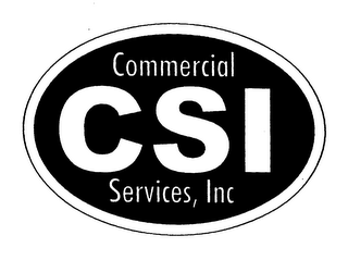 mark for CSI COMMERCIAL SERVICES INC., trademark #76095942