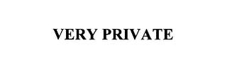 mark for VERY PRIVATE, trademark #76098023
