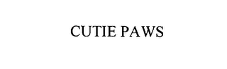 mark for CUTIE PAWS, trademark #76099535