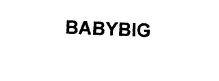 mark for BABYBIG, trademark #76100082
