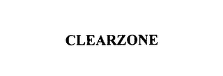 mark for CLEARZONE, trademark #76102606