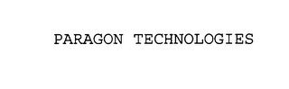 mark for PARAGON TECHNOLOGIES, trademark #76104567