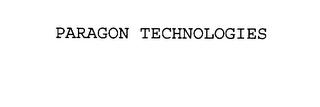 mark for PARAGON TECHNOLOGIES, trademark #76104569