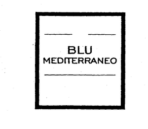 mark for BLU MEDITERRANEO, trademark #76105295