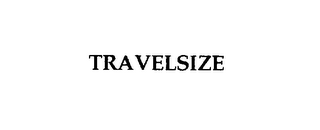mark for TRAVELSIZE, trademark #76106487