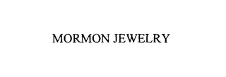 mark for MORMON JEWELRY, trademark #76106693