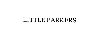 mark for LITTLE PARKERS, trademark #76107287