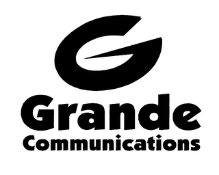 mark for G GRANDE COMMUNICATIONS, trademark #76107840