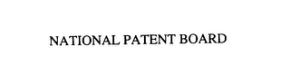 mark for NATIONAL PATENT BOARD, trademark #76108997