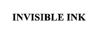 mark for INVISIBLE INK, trademark #76109697