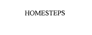 mark for HOMESTEPS, trademark #76111851