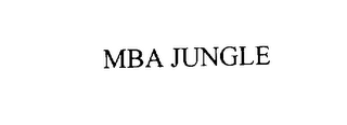 mark for MBA JUNGLE, trademark #76112459