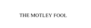 mark for THE MOTLEY FOOL, trademark #76116234
