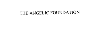 mark for THE ANGELIC FOUNDATION, trademark #76116758