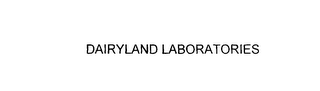 mark for DAIRYLAND LABORATORIES, trademark #76117884
