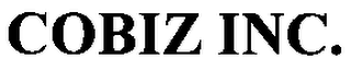 mark for COBIZ, INC., trademark #76118239