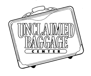 mark for UNCLAIMED BAGGAGE CENTER, trademark #76118600