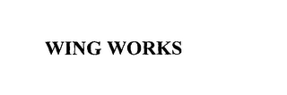 mark for WING WORKS, trademark #76120641