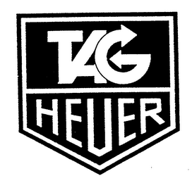 mark for TAG HEUER, trademark #76120806