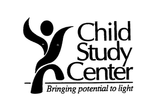 mark for CHILD STUDY CENTER BRINGING POTENTIAL TO LIGHT, trademark #76121535