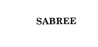 mark for SABREE, trademark #76121940