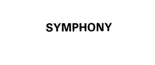 mark for SYMPHONY, trademark #76122636