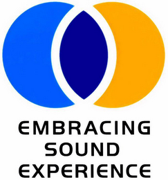 mark for EMBRACING SOUND EXPERIENCE, trademark #76123435