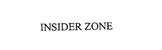 mark for INSIDER ZONE, trademark #76123905