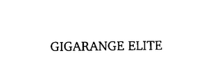 mark for GIGARANGE ELITE, trademark #76123975