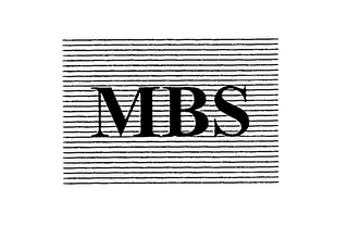 mark for MBS, trademark #76124711