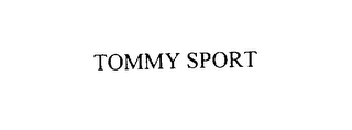 mark for TOMMY SPORT, trademark #76125594
