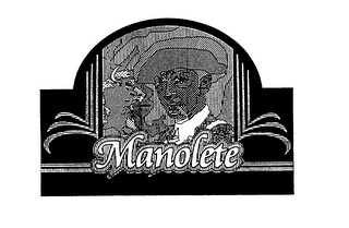 mark for MANOLETE, trademark #76126187