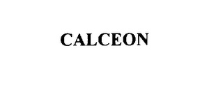 mark for CALCEON, trademark #76126268