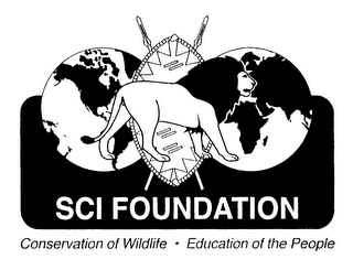 mark for SCI FOUNDATION CONSERVATION OF WILDLIFE EDUCATION OF THE PEOPLE, trademark #76126889