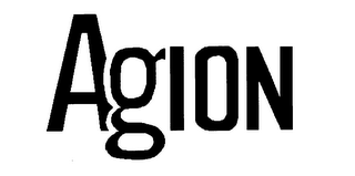 mark for AGION, trademark #76127361