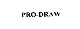 mark for PRO-DRAW, trademark #76127554