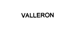 mark for VALLERON, trademark #76128145