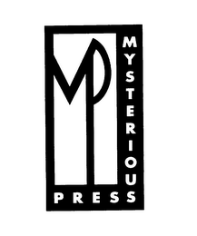 mark for MP MYSTERIOUS PRESS, trademark #76128404