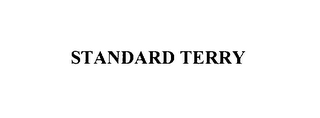 mark for STANDARD TERRY, trademark #76129373