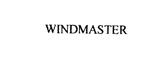 mark for WINDMASTER, trademark #76130331