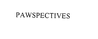 mark for PAWSPECTIVES, trademark #76130617