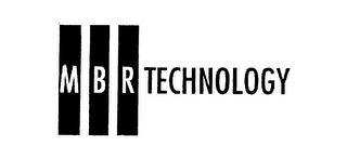 mark for MBR TECHNOLOGY, trademark #76130851