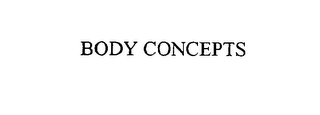 mark for BODY CONCEPTS, trademark #76131202