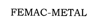 mark for FEMAC-METAL, trademark #76131701