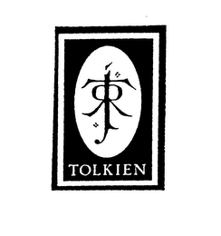 mark for JRRT TOLKIEN, trademark #76132122