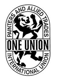 mark for PAINTERS AND ALLIED TRADES ONE UNION INTERNATIONAL UNION, trademark #76132707