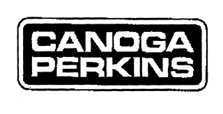 mark for CANOGA PERKINS, trademark #76133415